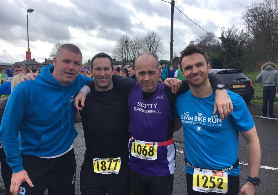 Larne Half Marathon 2017