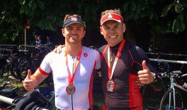 Smiles all-round at TriAthy Double Olympic