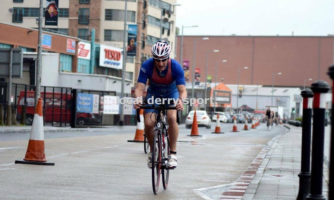 Age Group win at Firmus City of Derry Triathlon