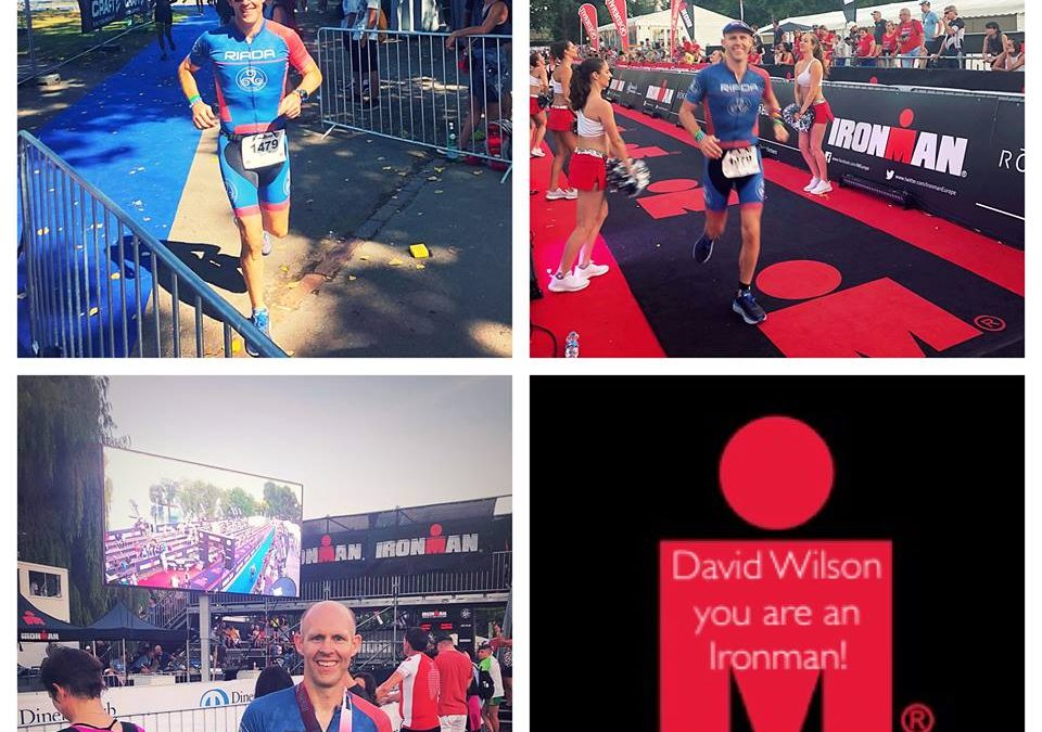 Congratulations David Wilson at Ironman Switzerland
